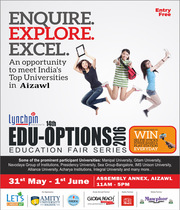 Edu-Options 2016 Aizawl: Admission Fair Series